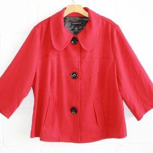 Lane Bryant Red Coat 20